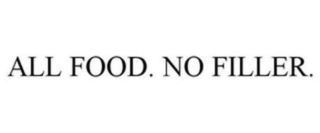 ALL FOOD. NO FILLER.