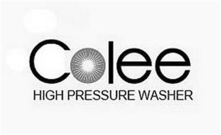 COLEE HIGH PRESSURE WASHER