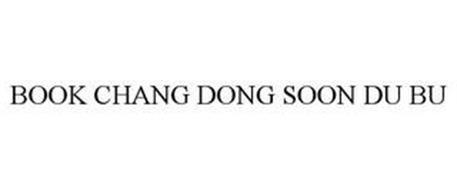BOOK CHANG DONG SOON DU BU