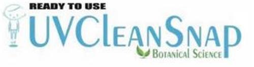 READY TO USE UVCLEANSNAP BOTANICAL SCIENCE