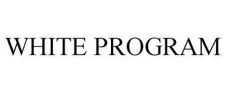 WHITE PROGRAM