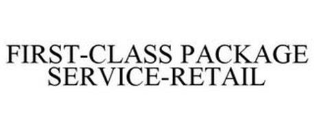 FIRST-CLASS PACKAGE SERVICE-RETAIL