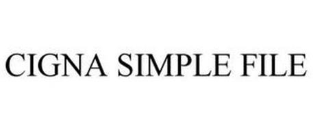 CIGNA SIMPLE FILE