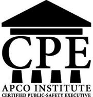 CPE APCO INSTITUTE CERTIFIED PUBLIC-SAFETY EXECUTIVE