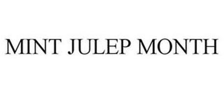 MINT JULEP MONTH