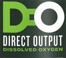 D O DIRECT OUTPUT DISSOLVED OXYGEN