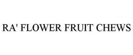 RA' FLOWER FRUIT CHEWS