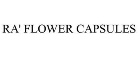RA' FLOWER CAPSULES
