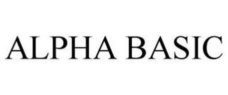 ALPHA BASIC