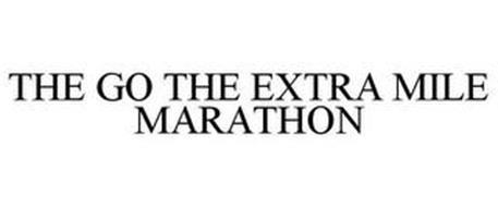 THE GO THE EXTRA MILE MARATHON