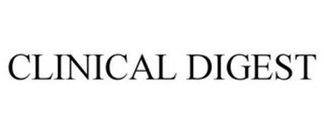 CLINICAL DIGEST