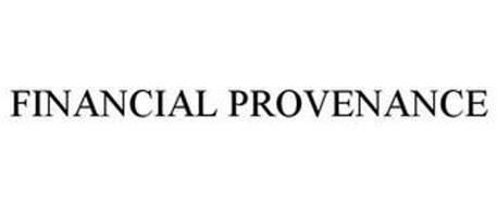 FINANCIAL PROVENANCE