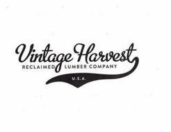 VINTAGE HARVEST RECLAIMED LUMBER COMPANY U.S.A.