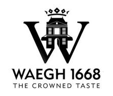 W WAEGH 1668 THE CROWNED TASTE
