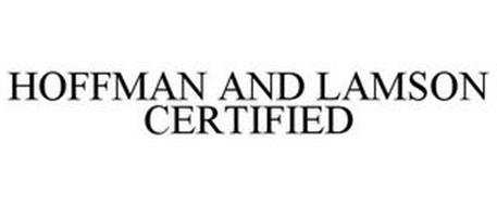 HOFFMAN AND LAMSON CERTIFIED