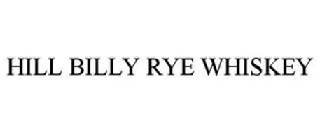 HILL BILLY RYE WHISKEY