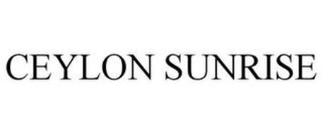 CEYLON SUNRISE