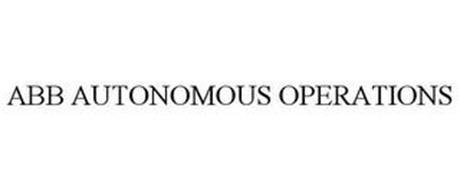ABB AUTONOMOUS OPERATIONS