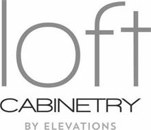 LOFT CABINETRY BY ELEVATIONS