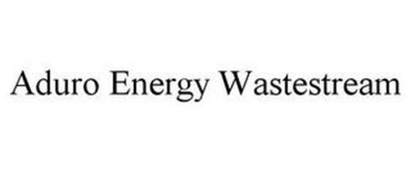 ADURO ENERGY WASTESTREAM