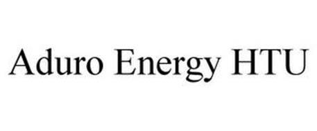 ADURO ENERGY HTU