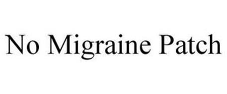 NO MIGRAINE PATCH