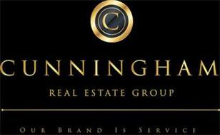 C CUNNINGHAM REAL ESTATE GROUP OUR BRAND IS SERVICE