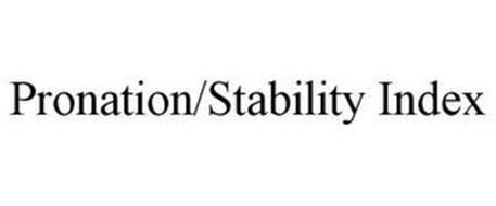 PRONATION/STABILITY INDEX