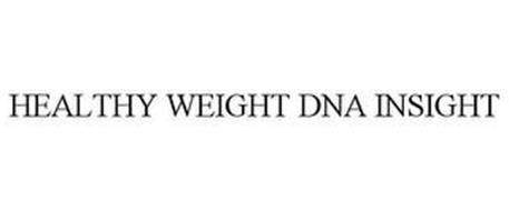 HEALTHY WEIGHT DNA INSIGHT