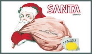 SANTA BRAND PACKED BY LIMONEIRA COMPANY LEMONS