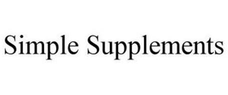 SIMPLE SUPPLEMENTS