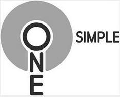 ONE SIMPLE