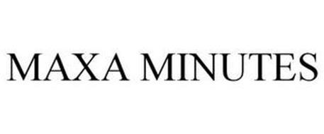 MAXA MINUTES