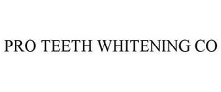 PRO TEETH WHITENING CO
