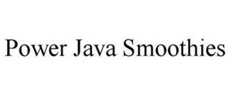 POWER JAVA SMOOTHIES