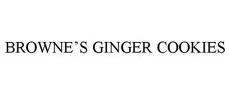 BROWNE'S GINGER COOKIES