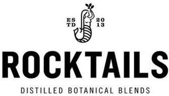 ROCKTAILS ESTD 2013 DISTILLED BOTANICAL BLENDS