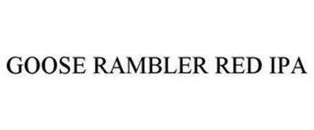 GOOSE RAMBLER RED IPA