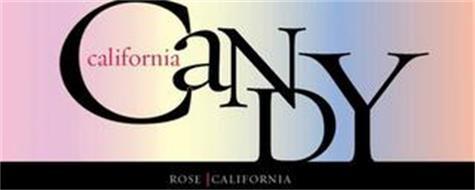 CALIFORNIA CANDY ROSE CALIFORNIA