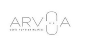 ARVUA SALES POWERED BY DATA