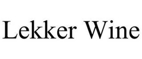 LEKKER WINE
