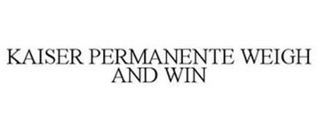 KAISER PERMANENTE WEIGH AND WIN