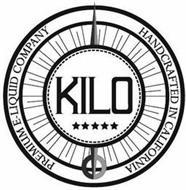 KILO PREMIUM E-LIQUID COMPANY HANDCRAFTED IN CALIFORNIA