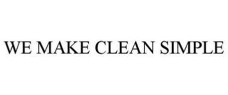 WE MAKE CLEAN SIMPLE