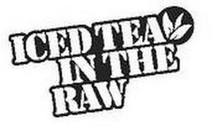 ICED TEA IN THE RAW