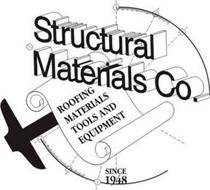 STRUCTURAL MATERIALS CO. ROOFING MATERIALS TOOLS AND EQUIPMENT SINCE 1948