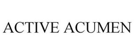 ACTIVE ACUMEN