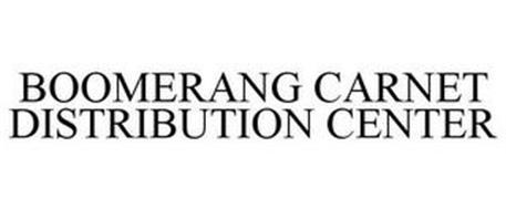 BOOMERANG CARNET DISTRIBUTION CENTER
