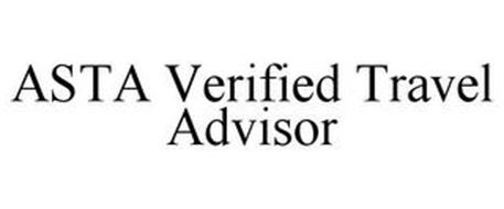 ASTA VERIFIED TRAVEL ADVISOR