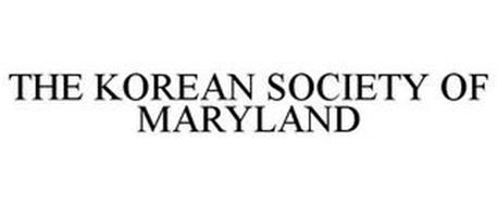 THE KOREAN SOCIETY OF MARYLAND
